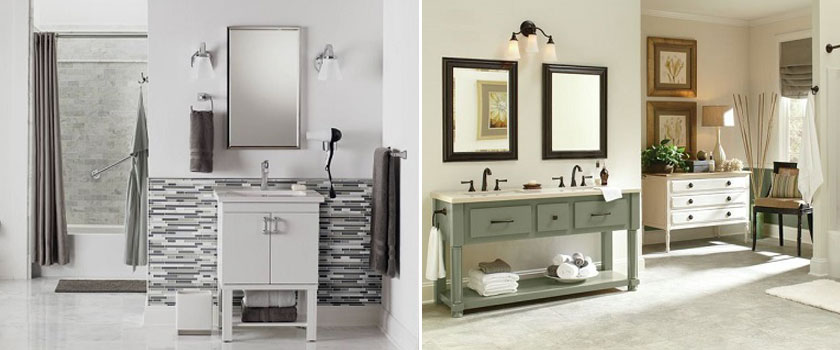 Vanity Lighting and Bathroom Fixtures in Duluth MN
